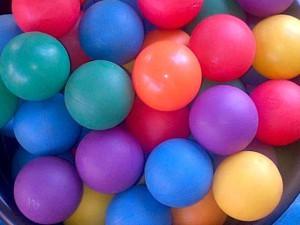 Bag with Balls R20 each