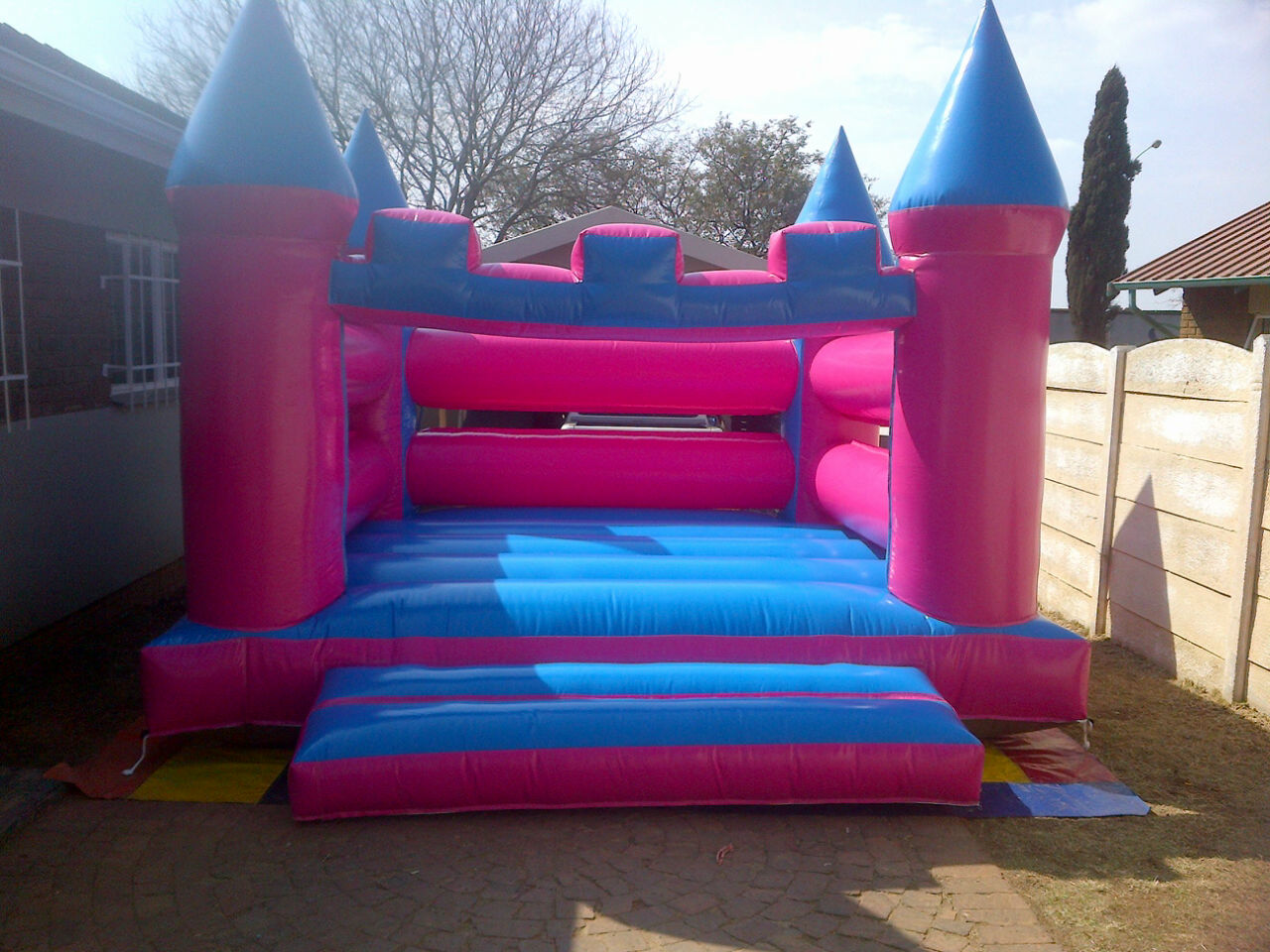 Princess Jumping Castle R400 (4m x 4m)